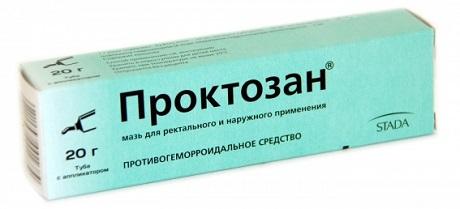 Проктозан Крем Инструкция - фото 2