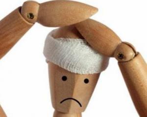 Сотрясение мозга - симптомы у взрослых, признаки